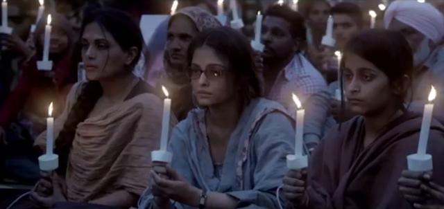 Aishwarya Rai Bachchan and Richa Chadha from the movie Sarbjit.