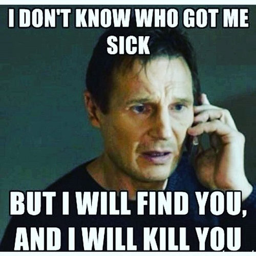 Just 17 Memes About Being Sick.