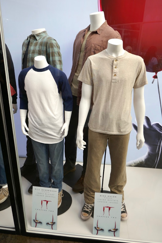 IT Chapter Two Bill Mike movie costumes