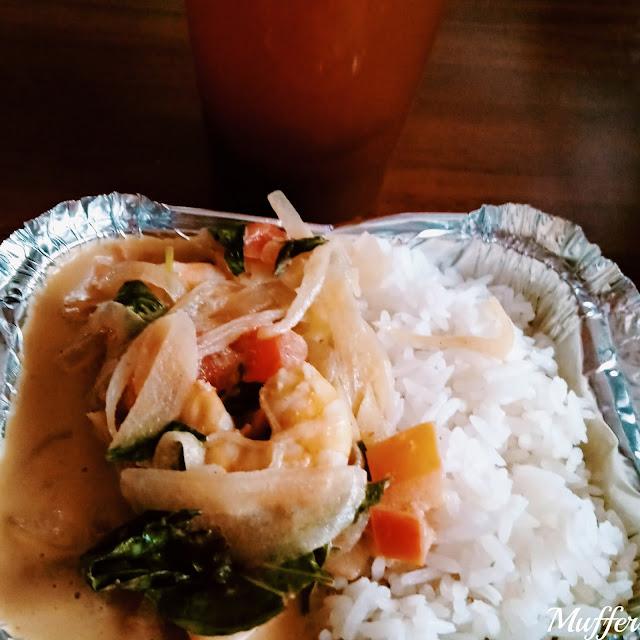 Thai Express - Curry Rojo con Camarones