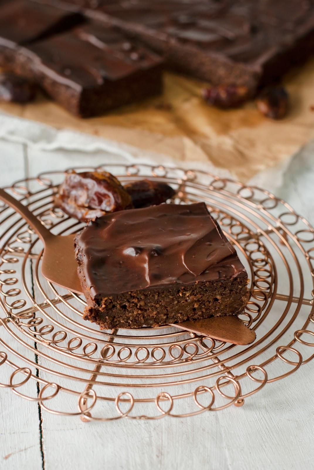 Brownie z batatów bezglutenowe bez cukru