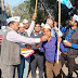 दिल्ली में पार्टी की जीत पर 'आप' ने मनाया जश्न