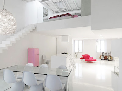 Contemporary White Interior Design