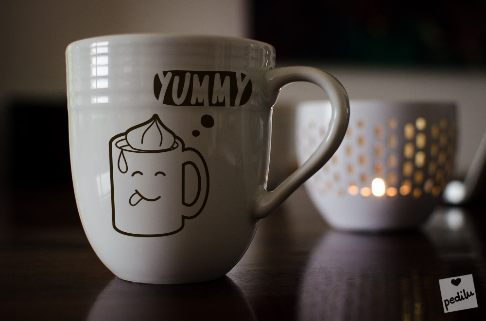 Hot chocolate – Yummy! (mug)