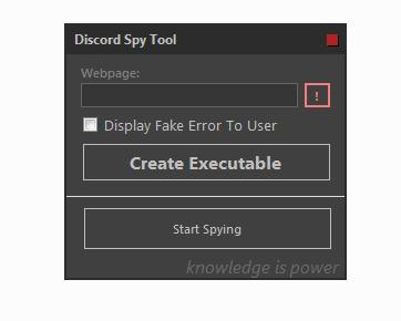 Discord Spy Tool