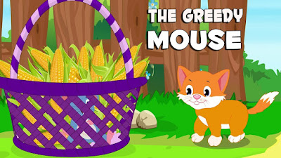 The Greedy Mouse in English story
