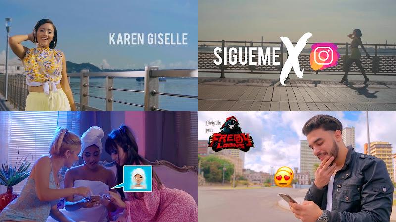 Karen Giselle - ¨Sígueme X Instagram¨ - Videoclip - Dirección: Freddy Loons. Portal del Vídeo Clip Cubano