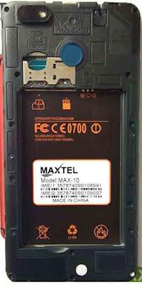 MAXTEL MAX-10 FLASH FILE