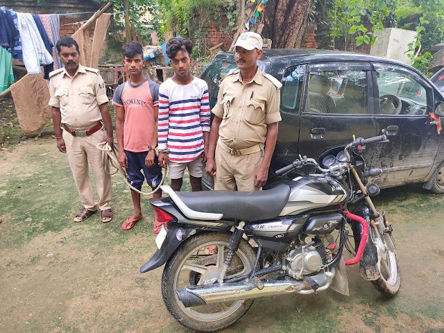 1026 बोतल नेपाली देसी शराब व वाहन के साथ दो गिरफ्तार