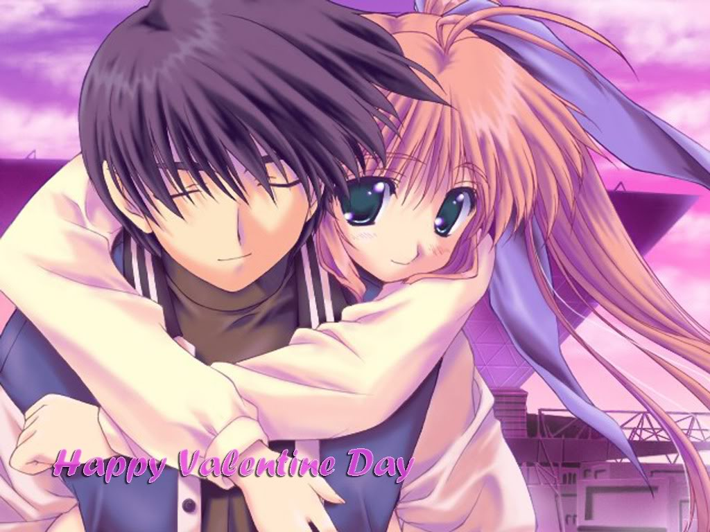 Anime Love Wallpapers: Valentines Wallpapers