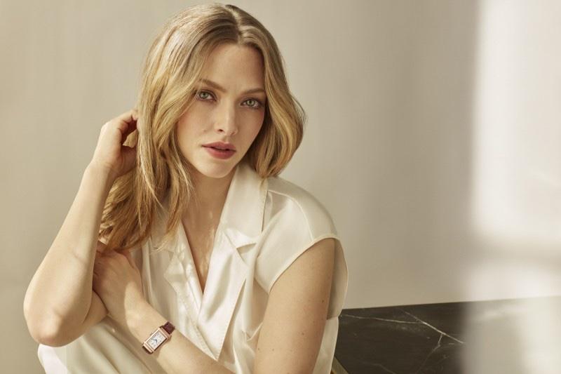 Amanda Seyfried for Jaeger-LeCoultre Reverso Watch. Photo: Alique