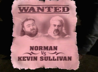 WCW Clash of the Champions X -  Norman vs. Kevin Sullivan - Falls Count Anywhere