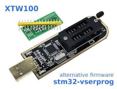 Alternative firmware for XTW100 Programmer
