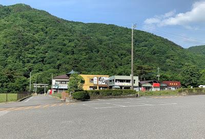 龍王峡駐車場
