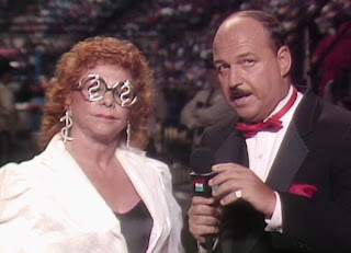 WWE / WWF Saturday Night's Main Event 1 (1985) - Mean Gene interviews the old Fabulous Moolah