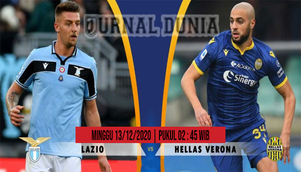 Prediksi Lazio vs Verona, Minggu 13 Desember 2020 Pukul 02.45 WIB