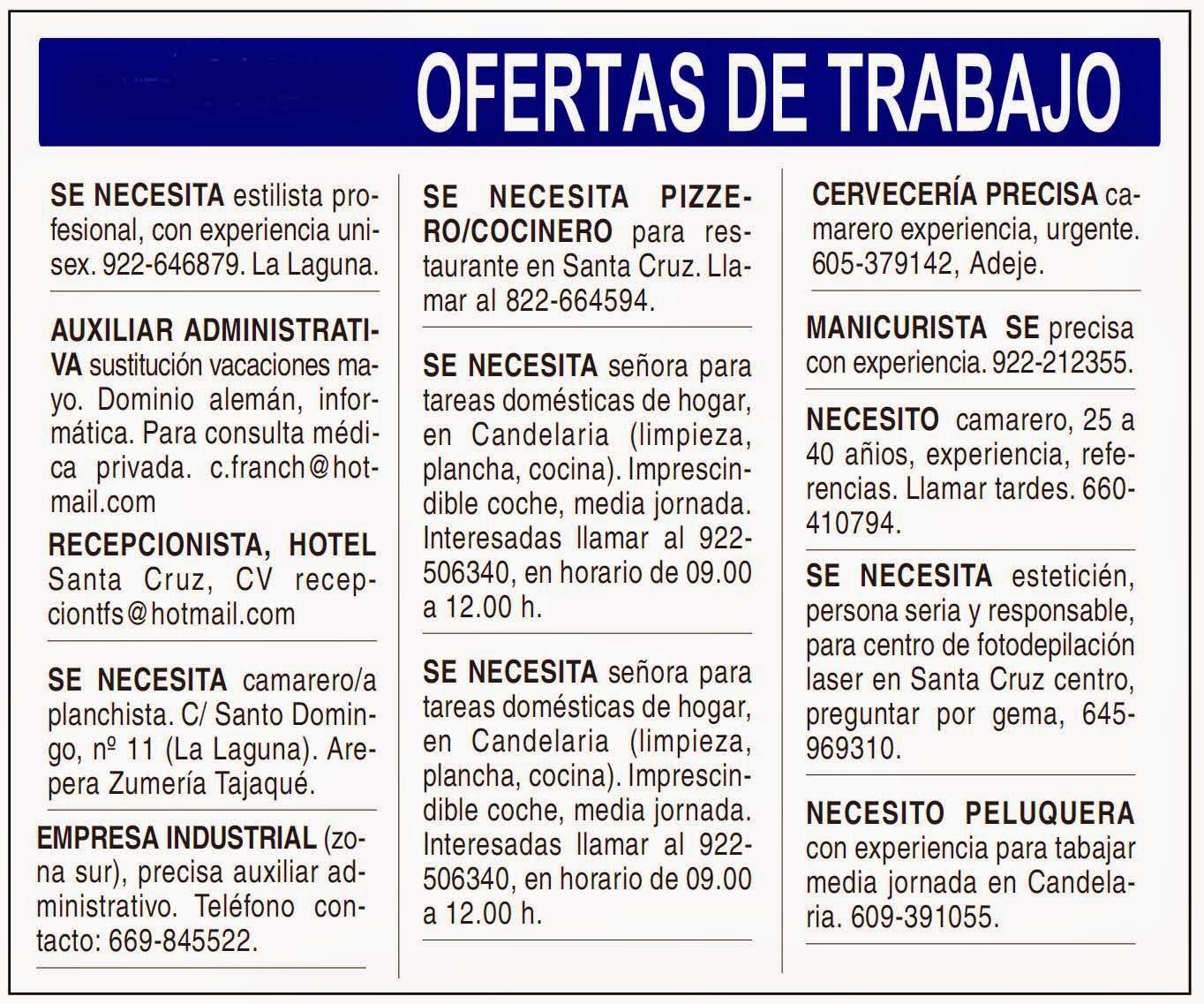 Trabajos en guayaquil abril 2015 ecuador noticias - Trabajo jardinero madrid ...