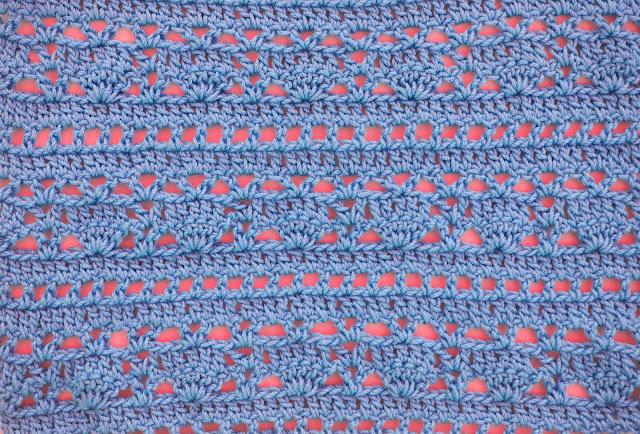 4 - Crochet Imagen Puntada combinada para blusas a crochet y ganchillo por Majovel Crochet