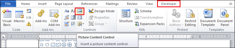 HOW TO INSERT PLACEHOLDER IN A MS WORD