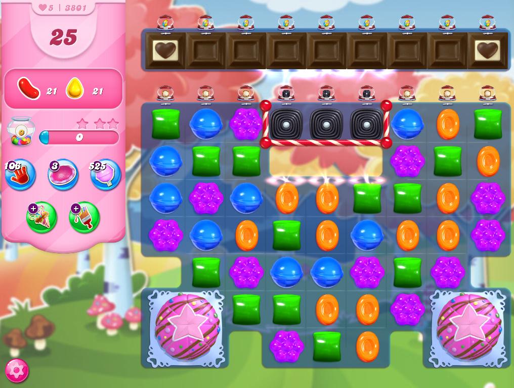 Candy Crush Saga level 3801