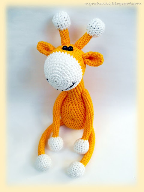 жираф крючком