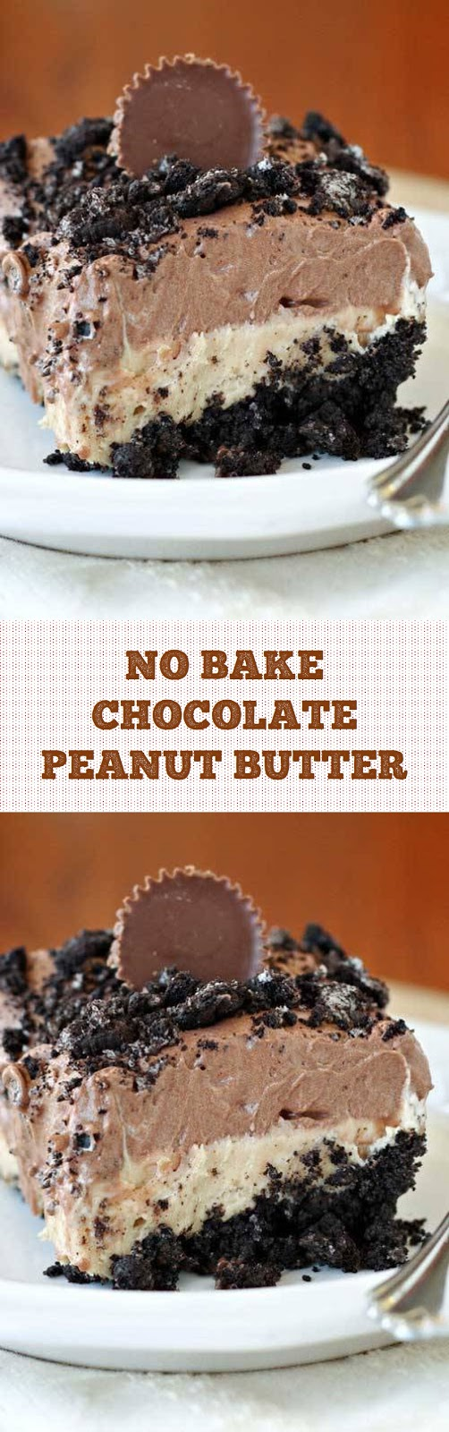 No Bake Chocolate Peanut Butter Dessert