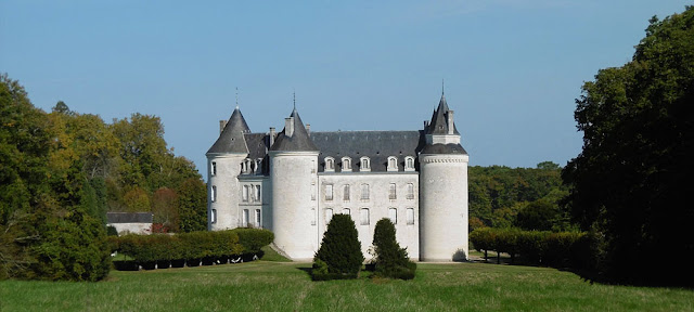 Chateau de Grillemont, Indre et Loire, France. Photo by Loire Valley Time Travel.