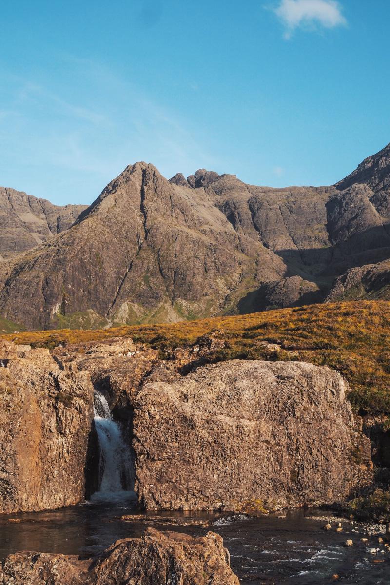 La chaîne des Cuillins sur l'île de Skye en Ecosse