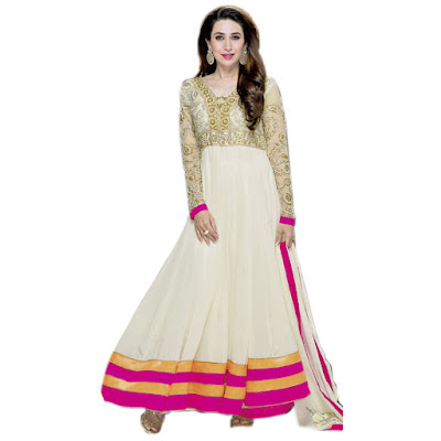 Anarkali Suit with Zardozi Embroidery