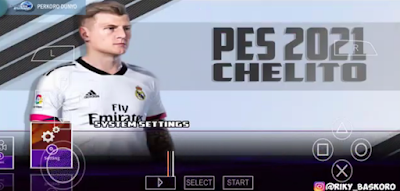 Update Texture PES 2021 Chelito Lite PPSSPP