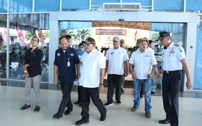 Plt.Nanang Ermanto Tinjau Pelabuhan Bakauheni Untuk Kesiapan Arus Mudik Lebaran 2019.