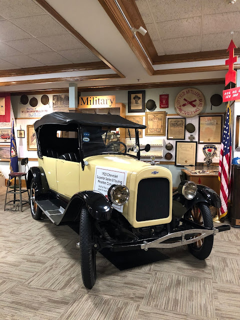 Who doesn't want to check out a 1923 Phaeton?