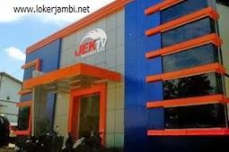 Lowongan Kerja Jambi Jek TV Desember 2019