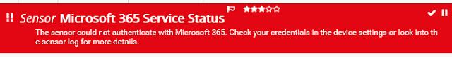 PRTG: Monitorizar Microsoft 365
