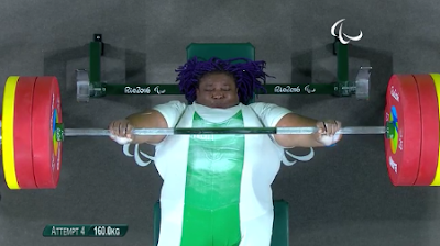 Powerlifter Josephine Orji breaks new record at Rio 2016 Paralympics