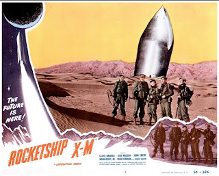 Lobby card - Rocketship X-M (1950)