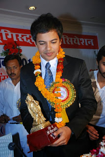Youngest candidate for MP 2014 election Arvind Kumar Singh