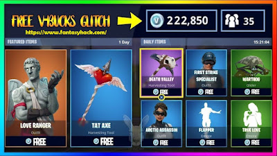 Download Free Fortnite Game Hack Unlimited V Bucks all 100% working and Tested for IOS, Android, PC, PS4 And XBOX