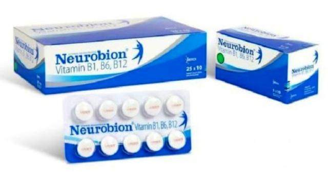 Neurobion tablet putih