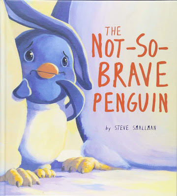 The Not-So-Brave Penguin has a message that kids can relate to. Being brave doesn't mean not being scared. Being brave means acting even when you are scared. #thenotsobravepenguin #picturebook #childrenslit #brave