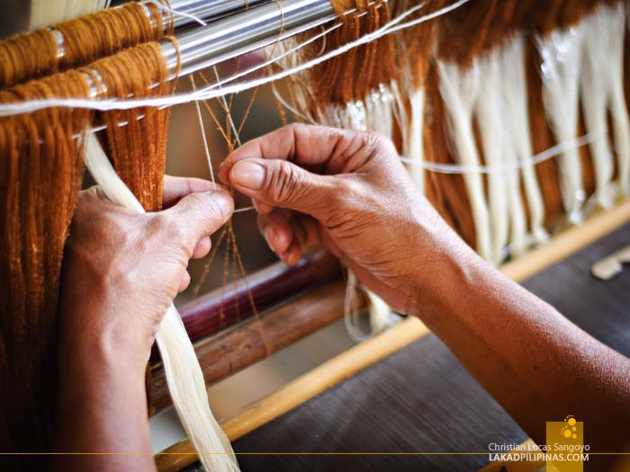 Antique Patadyong Weaving