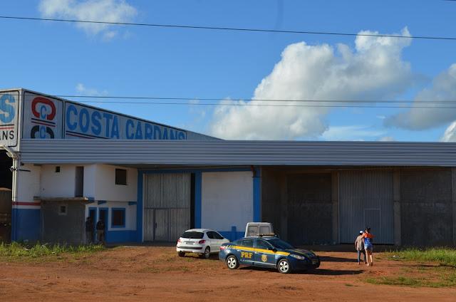 PRF recupera mais de meio milhão de reais em TVs roubadas em Rondônia