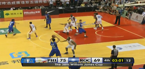 Mighty Sports Pilipinas def. Chinese Taipei-A, 89-81 (REPLAY VIDEO) Jones Cup 2016