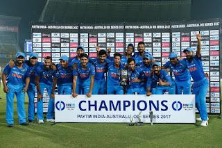 Australia tour of India 5-Match ODI Series 2017
