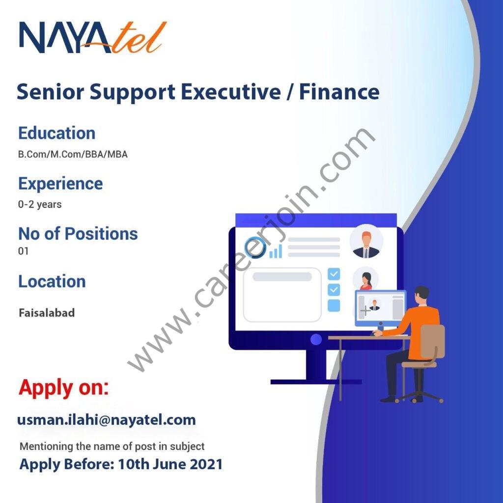 Nayatel Jobs 2021 in Pakistan