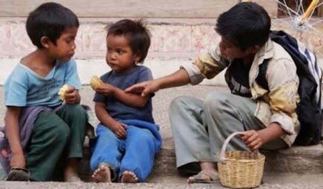 Nada qué celebrar. México de los países con más pobreza infantil.