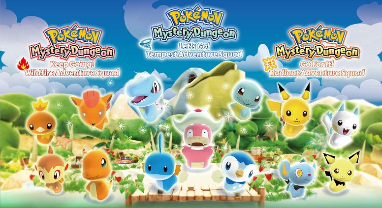 Pokémon Mystery Dungeon - Adventure Squad