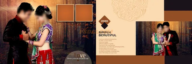 New 2020 12x36 Wedding Album DM Vol 12