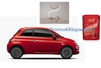 Logo Lindor Vinci Fiat 500 e buoni shopping da 500€