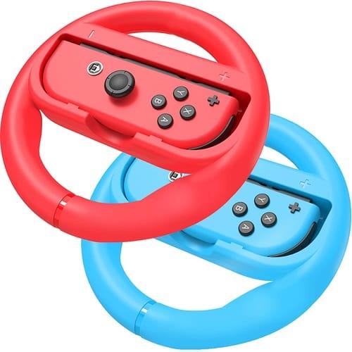 ABMSNO Nintendo Switch Racing Games Steering Wheel